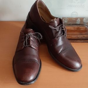 Tasso Elba Cap toe Leather Oxford Shoes 9